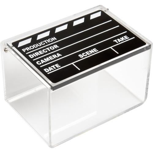 """Polaroid Storage Box for 2 x 3"""" Photos (Movie Slate Design)"""