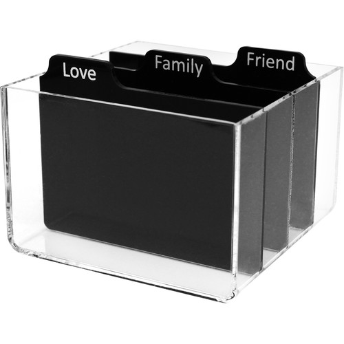 "Polaroid Storage Box with Dividers for 2 x 3"" Photos"
