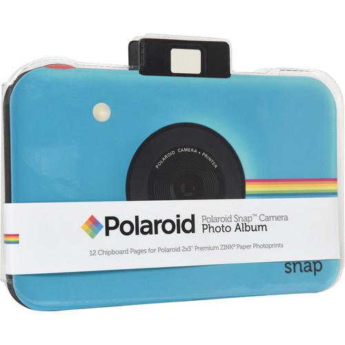 Polaroid Snap Camera Scrapbook Album (Blue)