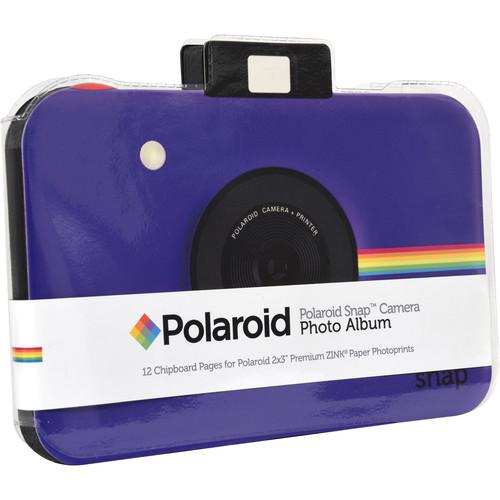 Polaroid Snap Camera Scrapbook Album (Purple)
