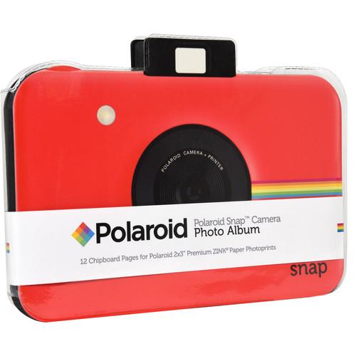 Polaroid Snap Camera Scrapbook Album (Red)