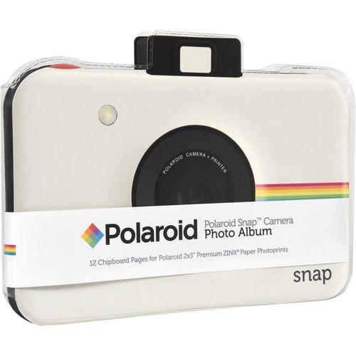 Polaroid Snap Camera Scrapbook Album (White)