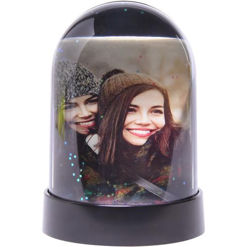 Polaroid Pencil Cup Snow Globe Photo Frame