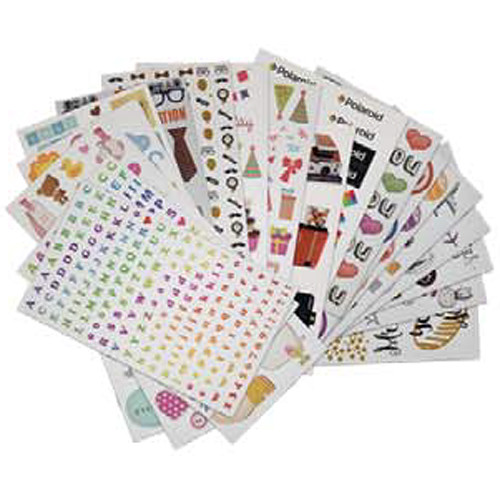Polaroid Scrapbook Stickers (Polaroid Camera)
