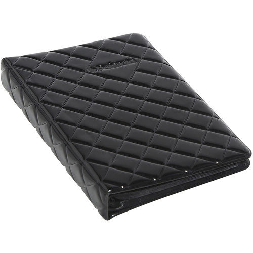 "Polaroid Quilted Cover Photo Album for 3 x 4"" (Black)"