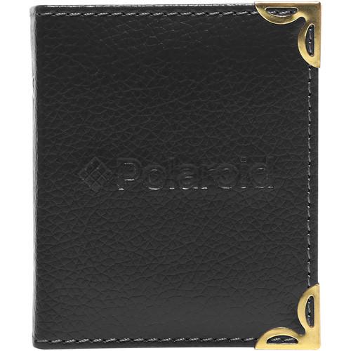 "Polaroid Mini Leatherette Photo Album for 3 x 4"" Prints (Black)"