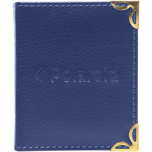 "Polaroid Mini Leatherette Photo Album for 3 x 4"" Prints (Blue)"