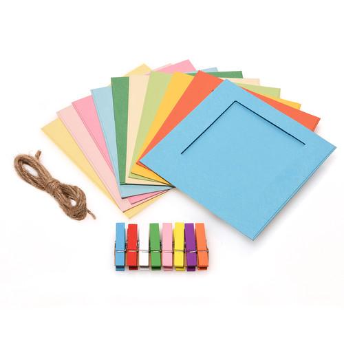 "Polaroid 3 x 4"" Square Color Frame Kit (10-Pack)"