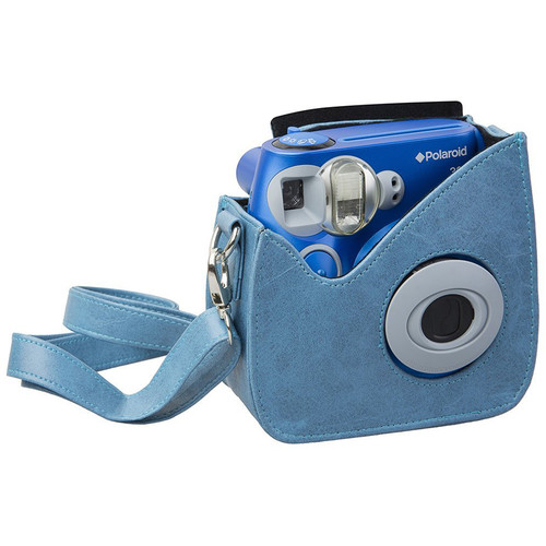 Polaroid Faux Leather Carrying Case for 300 Instant Camera (Blue)