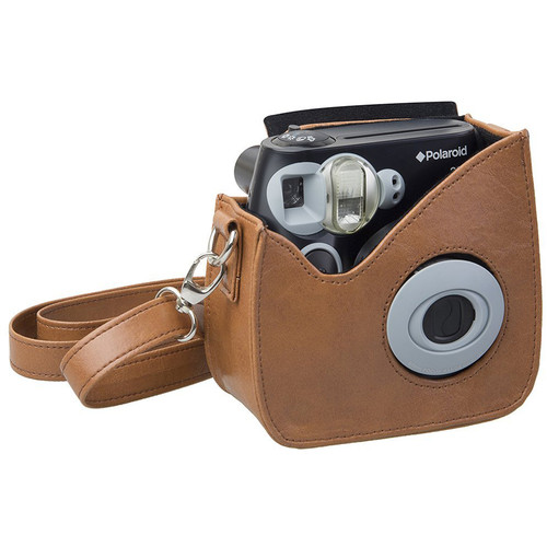 Polaroid Faux Leather Carrying Case for 300 Instant Camera (Brown)