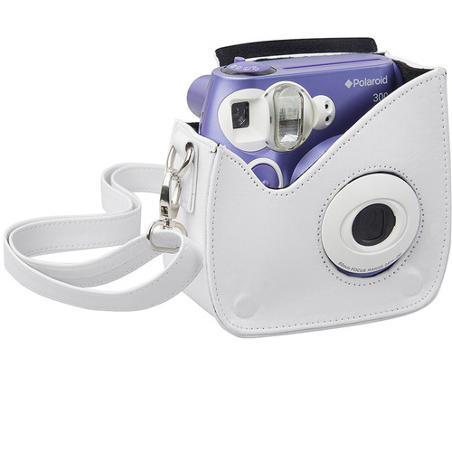 Polaroid Faux Leather Carrying Case for 300 Instant Camera (White)
