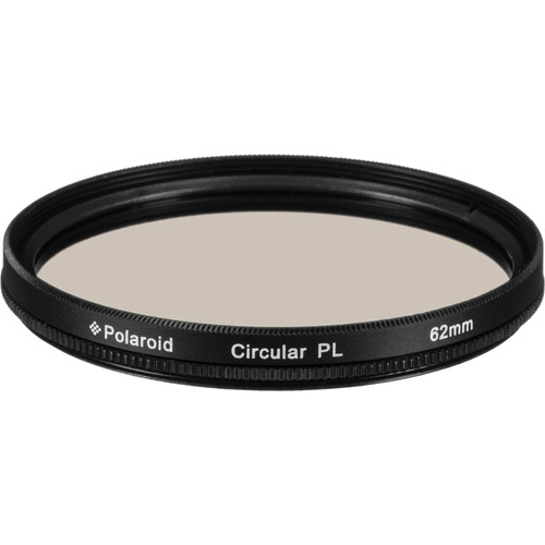 Polaroid 62mm Circular Polarizer Filter