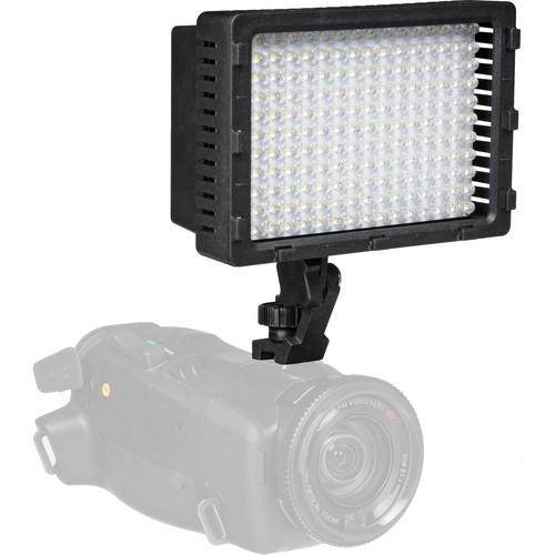 Polaroid 176 High-Powered Variable Color/Brightness LED On-Camera Light