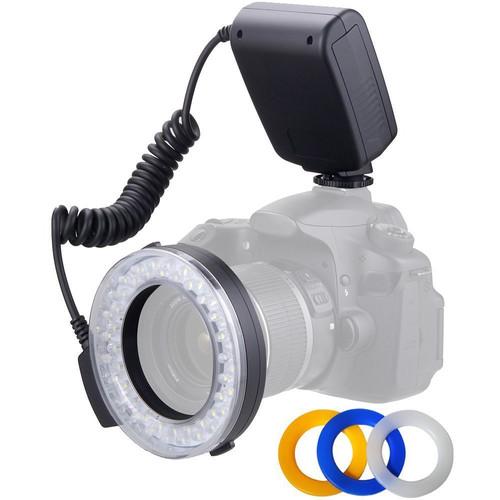 Polaroid Macro LED Ring Flash for Sony/Minolta Cameras
