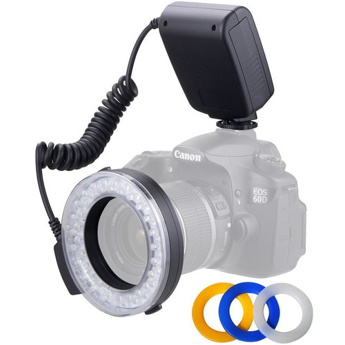 Polaroid Universal Macro LED Ring Flash