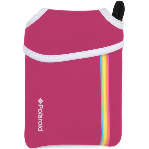 Polaroid Neoprene Pouch for Snap Instant Camera (Pink)