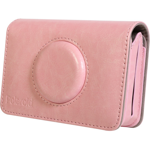 Polaroid Faux Leather Case for Snap Touch Instant Digital Camera (Pink)