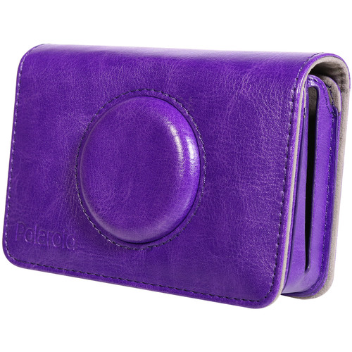Polaroid Faux Leather Case for Snap Touch Instant Digital Camera (Purple)