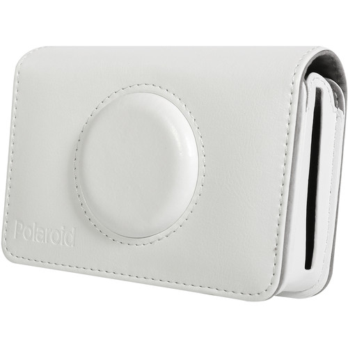 Polaroid Faux Leather Case for Snap Touch Instant Digital Camera (White)