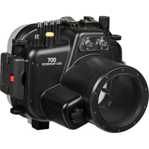 Polaroid Underwater Housing for Canon EOS 70D and 18-55mm f/3.5-5.6 Lens