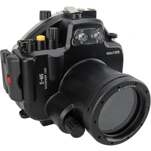 Polaroid Underwater Housing for Olympus OM-D E-M5 and 12-50mm f/3.5-6.3 EZ Lens