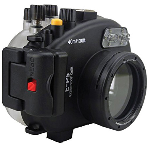 Polaroid Underwater Housing for Olympus PEN E-P5 and 17mm f/1.8 Lens