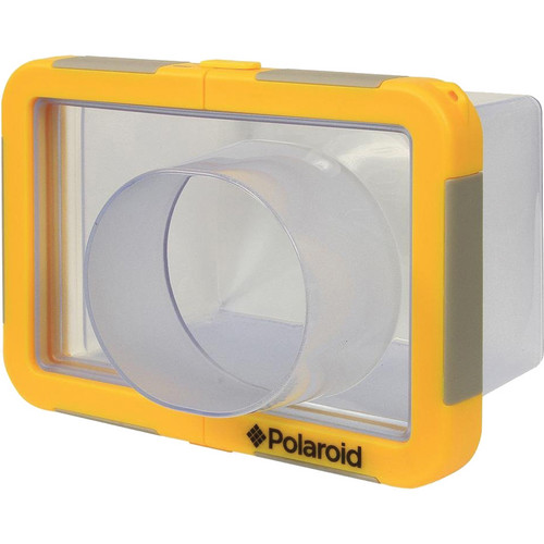 Polaroid Large Underwater Housing for Most Large Digital Point-and-Shoot Cameras