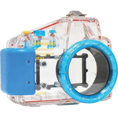 Polaroid Underwater Housing for Sony Alpha NEX-3 and E-Mount 16mm f/2.8 Lens