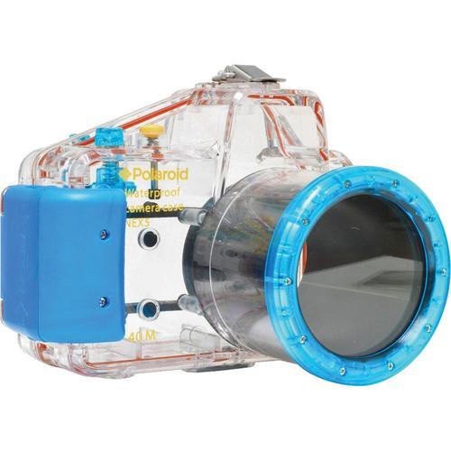 Polaroid Underwater Housing for Sony Alpha NEX-5 with 18-55mm Lens