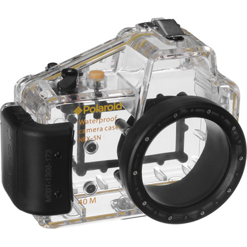 Polaroid Underwater Housing for Sony Alpha NEX-5N Digital Camera and 16mm Lens