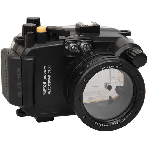 Polaroid Underwater Housing for Sony Alpha NEX-6 and 16-50mm f/3.5-5.6 Lens