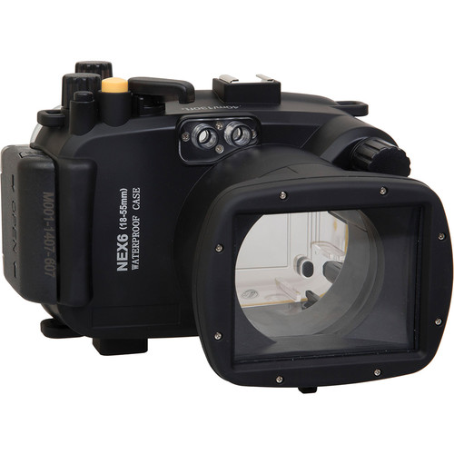Polaroid Underwater Housing for Sony Alpha NEX-6 and 18-55mm f/3.5-5.6 Lens