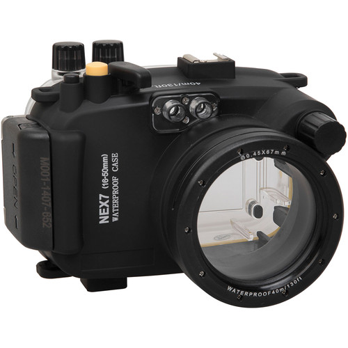 Polaroid Underwater Housing for Sony Alpha NEX-7 and 16-50mm f/3.5-5.6 Lens