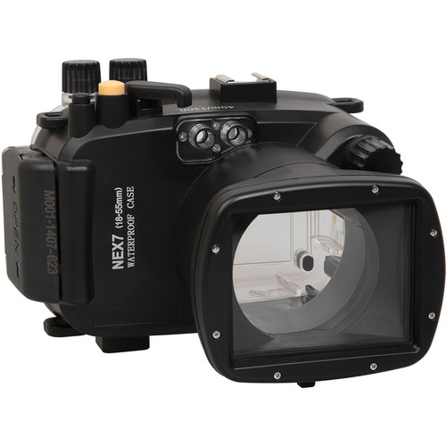 Polaroid Underwater Housing for Sony Alpha NEX-7 and 18-55mm f/3.5-5.6 Lens