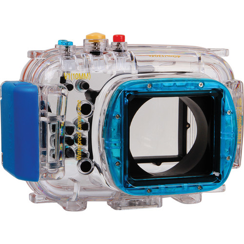 Polaroid Dive-Rated Waterproof Underwater Housing Case for Nikon V1 Digital Camera with 10mm Lens