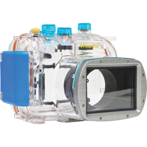 Polaroid Dive-Rated Waterproof Underwater Housing Case for Nikon Coolpix P7100 Digital Camera