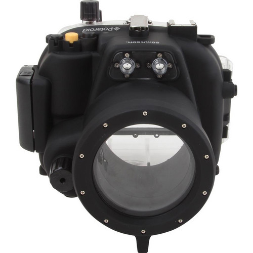 Polaroid Underwater Housing for Canon EOS Rebel T2i and 18-55mm f/3.5-5.6 Lens