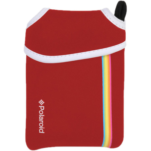 Polaroid ZIP Instant Digital Camera Neoprene Pouch (Red)