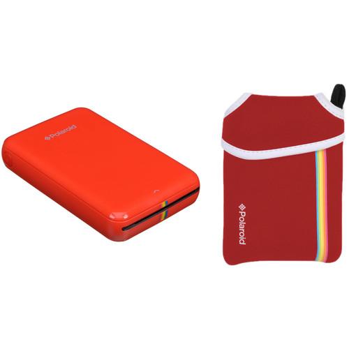 Polaroid Polaroid ZIP Mobile Printer Kit with Pouch (Red)