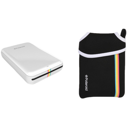Polaroid Polaroid ZIP Mobile Printer Kit with Pouch (White)