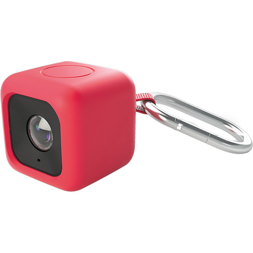 Polaroid Bumper Case for CUBE Action Camera (Red)