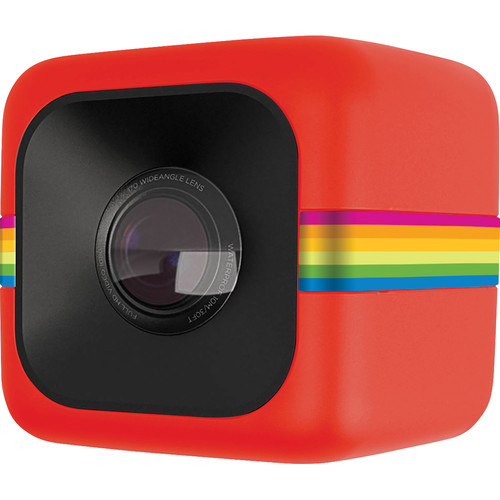 Polaroid Cube Lifestyle Action Camera (Red)