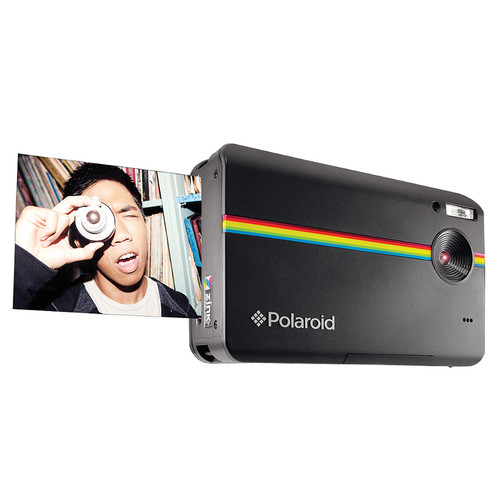 Polaroid Z2300 Instant Digital Camera (Black, Lucite Packaging)