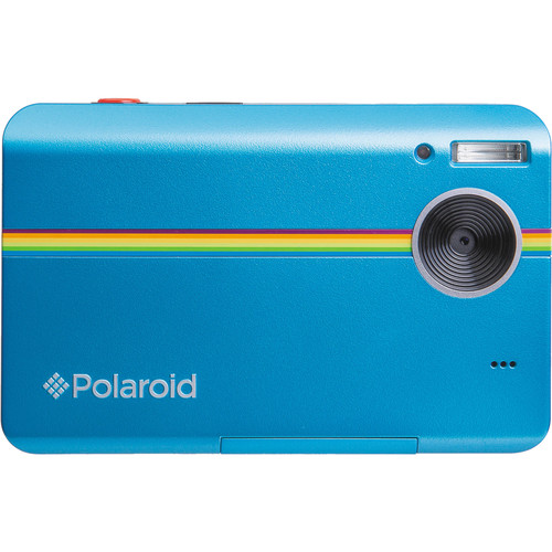 Polaroid Z2300 Instant Digital Camera (Blue, Lucite Packaging)