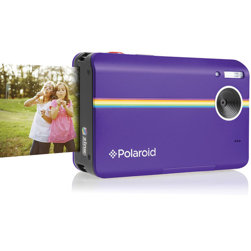 Polaroid Z2300 Instant Digital Camera (Purple, Lucite Packaging)