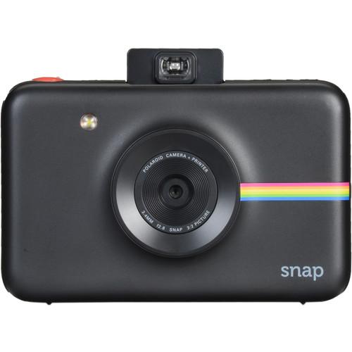 Polaroid Snap Instant Digital Camera Deluxe Kit (Black)