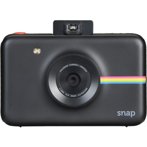 Polaroid Snap Instant Digital Camera with ZINK Photo Paper and Pouch Kit (Black)