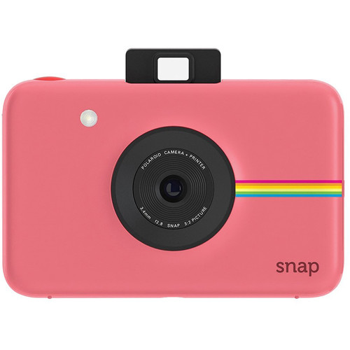 Polaroid Snap Instant Digital Camera with ZINK Photo Paper and Pouch Kit (Pink)