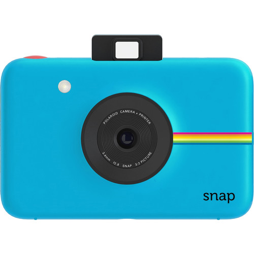 Polaroid Snap Instant Digital Camera with Paper Kit (Blue)