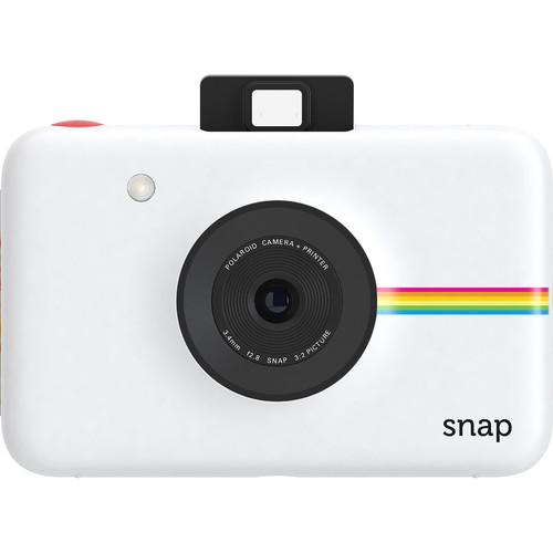 Polaroid Snap Instant Digital Camera with Pouch Kit (White)